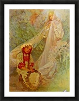 Madonna of the Lilies Picture Frame print