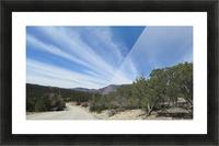 Manzano Mountains VP3 Picture Frame print