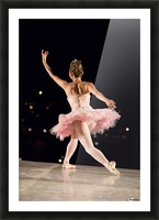 Ballerina 1 Picture Frame print