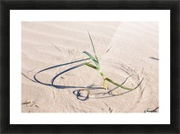 Sculptor of the Sands Picture Frame print