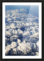 The Rockies Picture Frame print