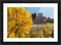 Fall at Courthouse Wash Picture Frame print
