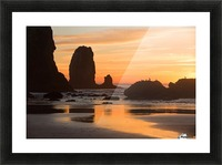 Pacific Afterglow Picture Frame print