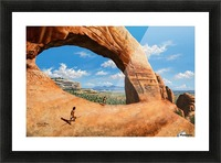 Discoverers of Wilson Arch Picture Frame print