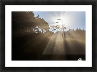 Sun Rays Picture Frame print