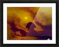 Mystery of the past Picture Frame print