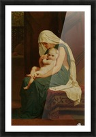 Mother and Child Picture Frame print