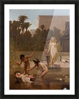 The Finding of Moses Picture Frame print