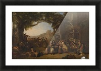 The Village Holiday Picture Frame print