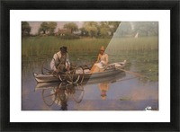 The Bow Net, 1886 Picture Frame print