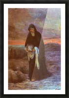 The sorrows of Mother Mary Picture Frame print