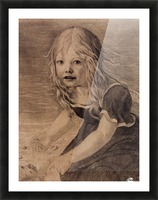 Portrait of the Artists Daughter Marie Picture Frame print