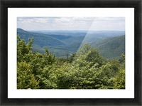 River Valley Picture Frame print