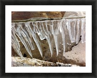 Pier at Tower Beach in the Winter VP1 Picture Frame print