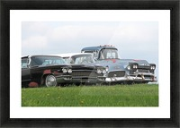 Old Cars on Grave Run Road VP2 Picture Frame print
