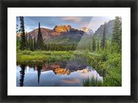 Reflection Of Skookum Volcano Picture Frame print