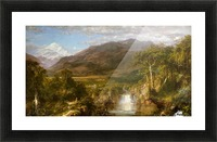 The Heart of the Andes Picture Frame print