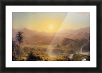 The Andes of Ecuador Picture Frame print