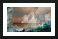 The Icebergs Picture Frame print