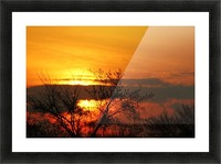 Morning Glow Picture Frame print