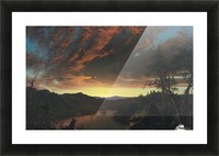 Twilight in the Wilderness Picture Frame print