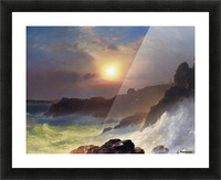 Hudson river school at Twilight Picture Frame print