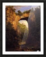 The Natural Bridge, Virginia Picture Frame print