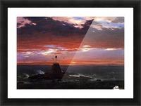 Mount Desert Island Picture Frame print