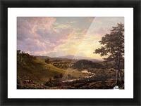 Stockbridge Mass 1847 Picture Frame print