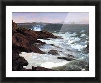 Fog off Mount Desert 1850 Picture Frame print