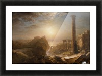 1873 Syria by the Sea Picture Frame print