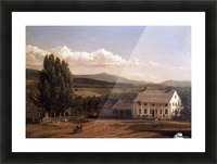 View in Pittsford Vt 1848 Picture Frame print
