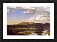 West Rock New Haven 1849 Picture Frame print