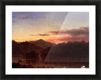The Evening Star 1859 Picture Frame print