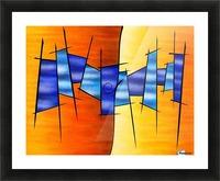 Seria Caloni V1 - the gift Picture Frame print