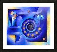 Grefenissa V1 - space art Picture Frame print