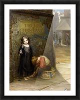 Uncared for 1871 Impression et Cadre photo