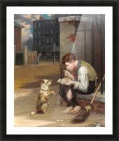 Training a small dog Impression et Cadre photo