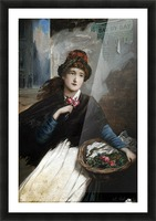 Lady Eleaonor Impression et Cadre photo