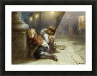 Fatigued Minstrels 1883 Impression et Cadre photo