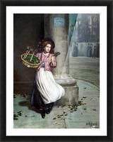 A young florist Impression et Cadre photo