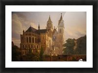Magdeburger Dom 1828 Picture Frame print