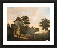 Stadtturm in Uberlingen Picture Frame print