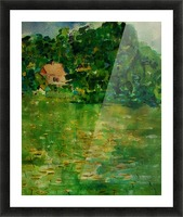 East Well Lake & Royalty Picture Frame print
