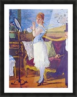 Nana by Manet Picture Frame print