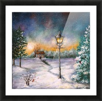 Light My Way Picture Frame print