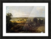 The Stour-Valley with the Church of Dedham Picture Frame print