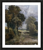 A Cornfield in the distance Picture Frame print