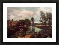 Flatford mill Picture Frame print