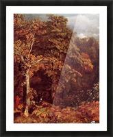 Wooded Landscape Picture Frame print